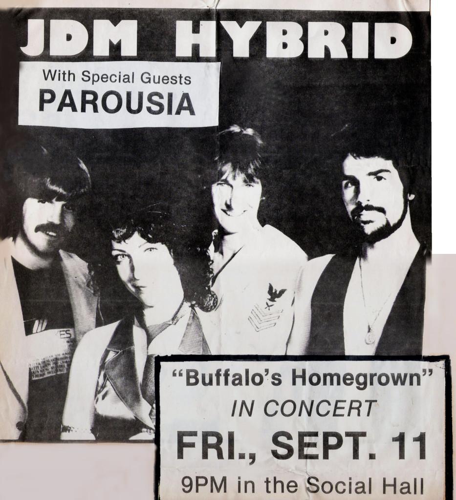 Buff State Social Hall- Fri. Sept. 11th 1981- Flyer