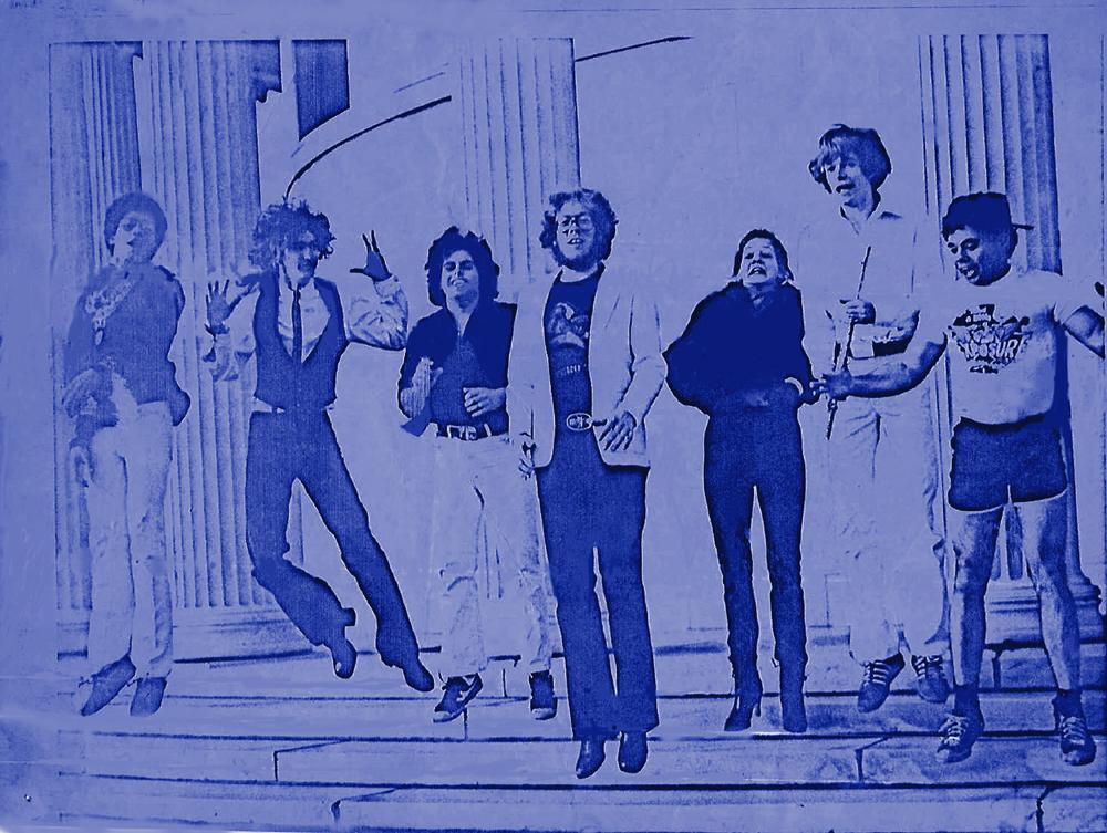 Buffalo Buffalo 'Fab 7' flyer Elmwood ave Art Gallery 05.04.1980