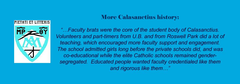 Calasantius history