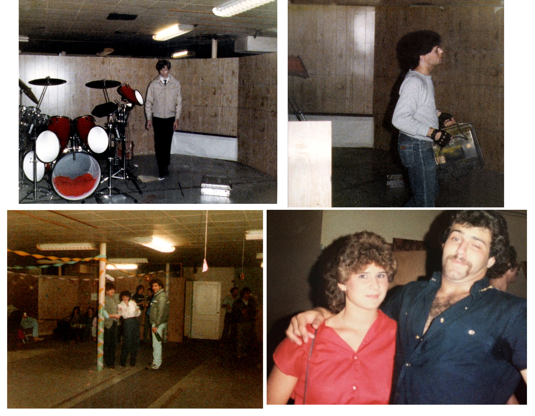 Moving out and cleaning up at The Chamber, September 1986