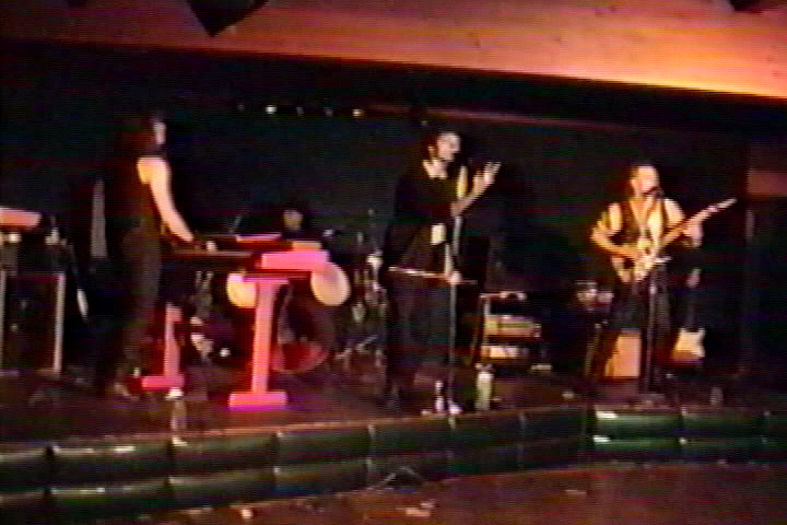 Dudley Taft with Parousia (Performance at Club88 03/02/1990)