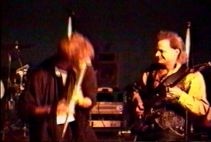 Patt Connolly & Dudley Taft at Club 88, March 2, 1990