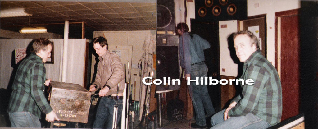 Colin Hilborne booked us at Broadway Joe's for a Valentines Day gig - February 14, 1986