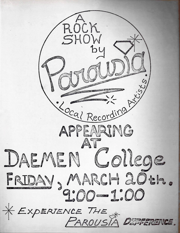 Daemen College - Friday, 03.20.1981