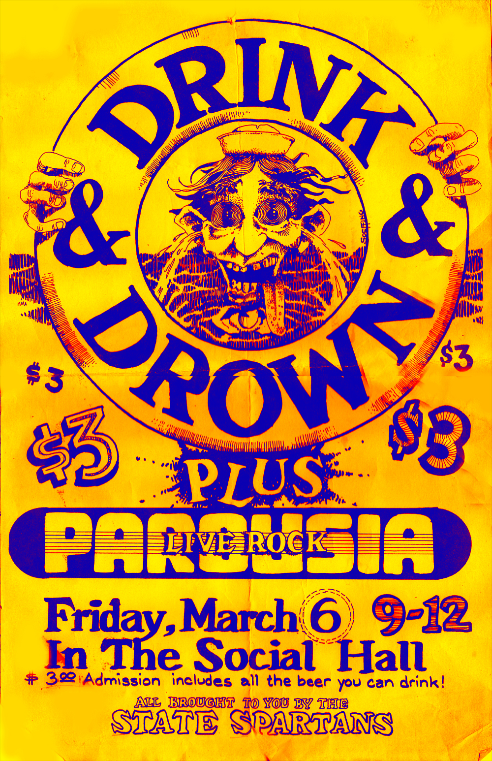 Drink & Drown Poster