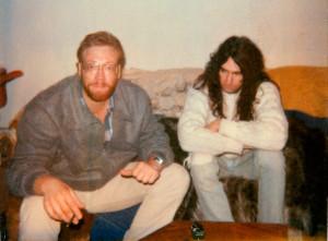 Eric Scheda & Garth Huels Circa 1989