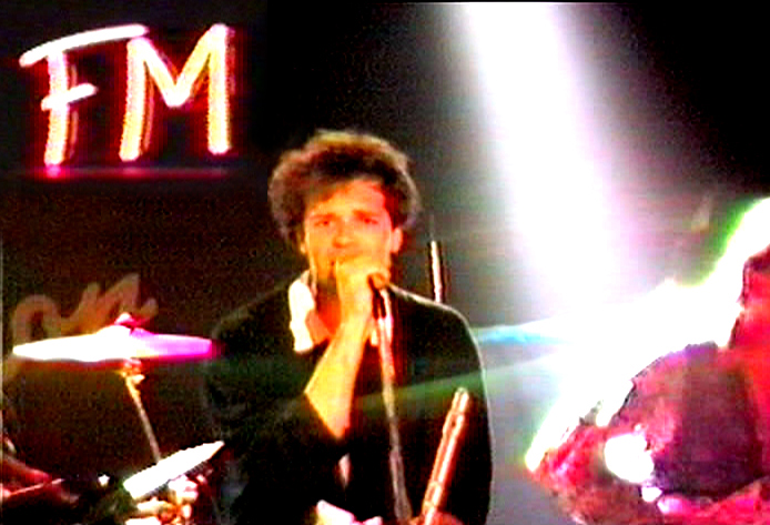 PAROUSIA at the FM Station, North Hollywood, CA. April 9, 1990