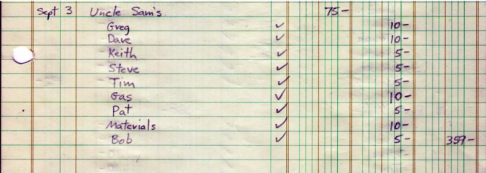 Parousia Finances Uncle Sam's 9-3-1981