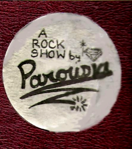 Early Parousia logo and sticker