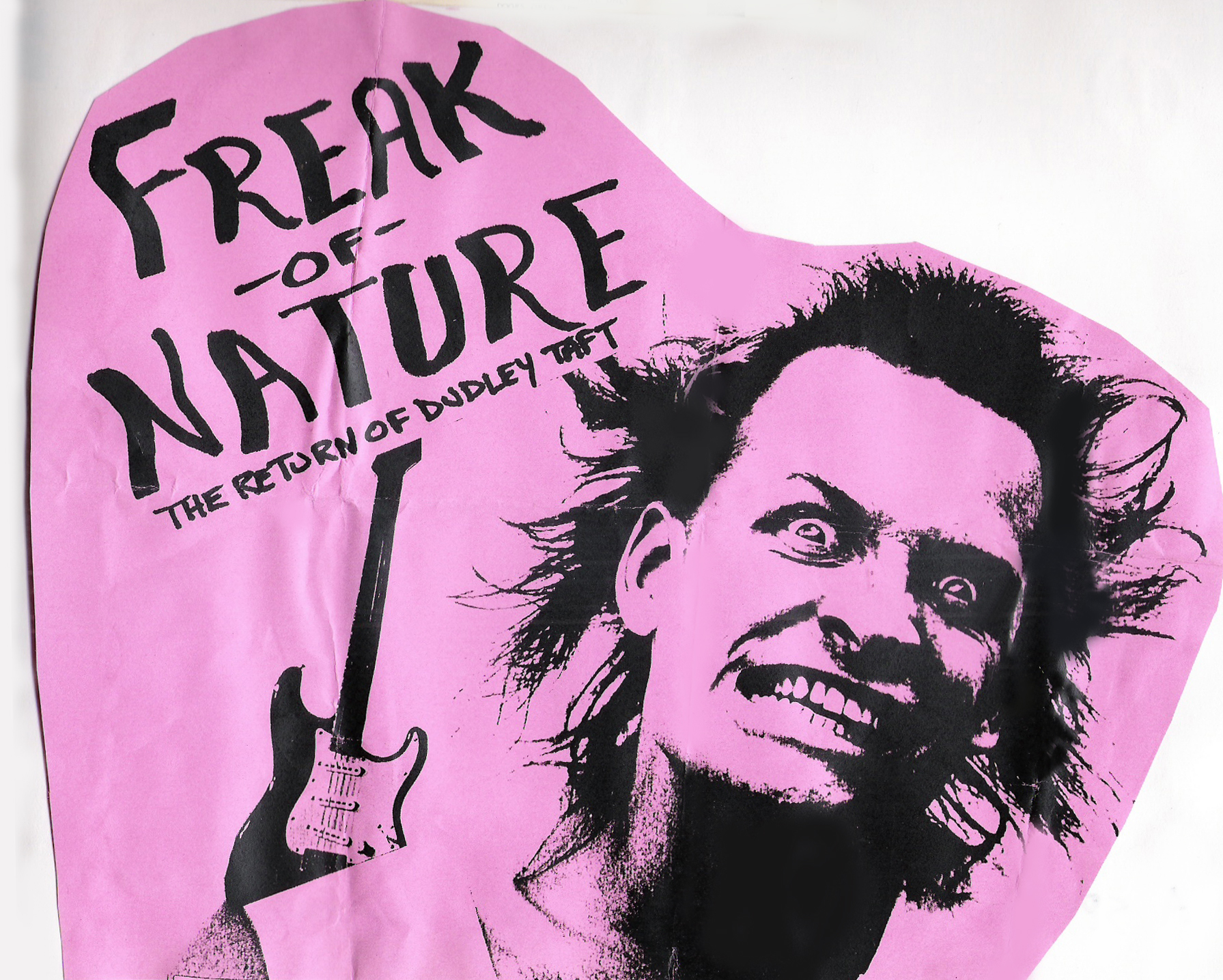 'Freak Of Nature' with guitarist Dudley Taft