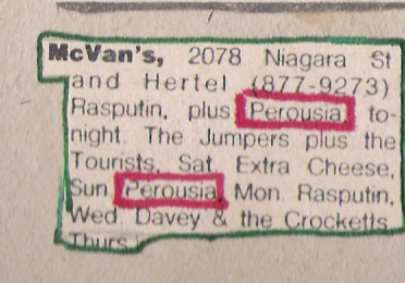 Friday June 1st, 1979 Parousia with Rasputin and Monday June 4th 1979