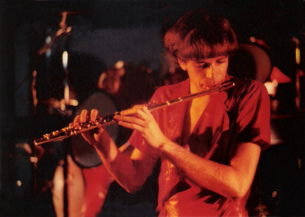 Patt Connolly Jamming at The Chamber in December 1984