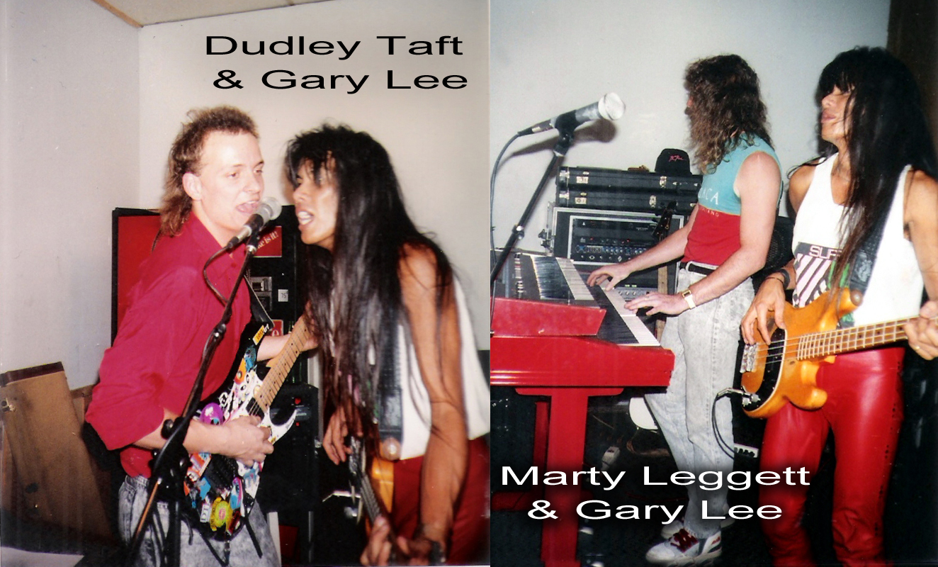 Bassist Gary Lee with Dudley Taft and Marty Leggett