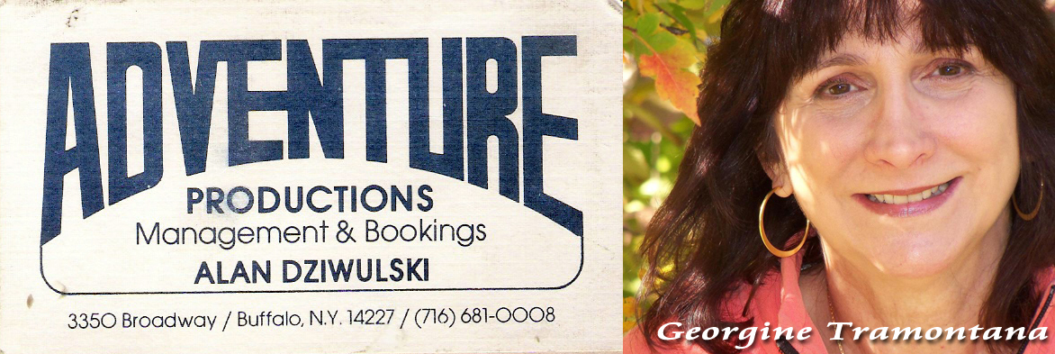 Georgine Tramontana - Adventure productions business card