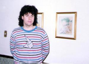 Gerry Cannizzaro 1989 (shirt by Kim Montesano)