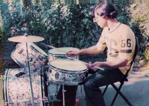 Gerry Cannizzaro 'Kent drums' July 14th 1975