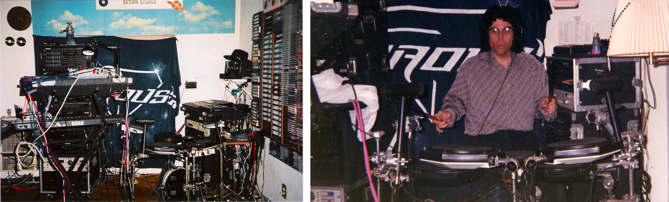 Gerry Cannizzaro's burgeoning Saturn Studios, 2001
