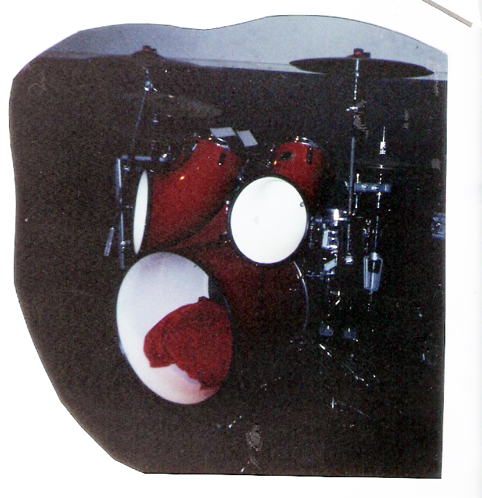 Gerry North's Drum Kit – Ethical Pool 1991