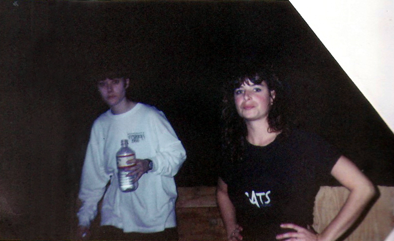 Dancers Gina Raffel and Karen Springer - Ethical Pool 1991