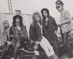 Guns & roses at the Music Machine 1985