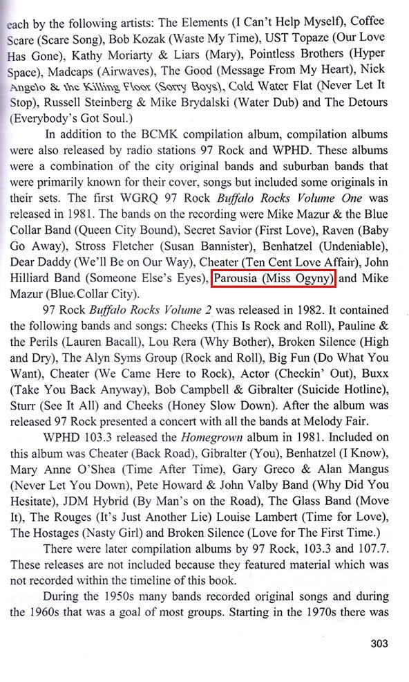 History of Buff Music & Entertainment PG.303