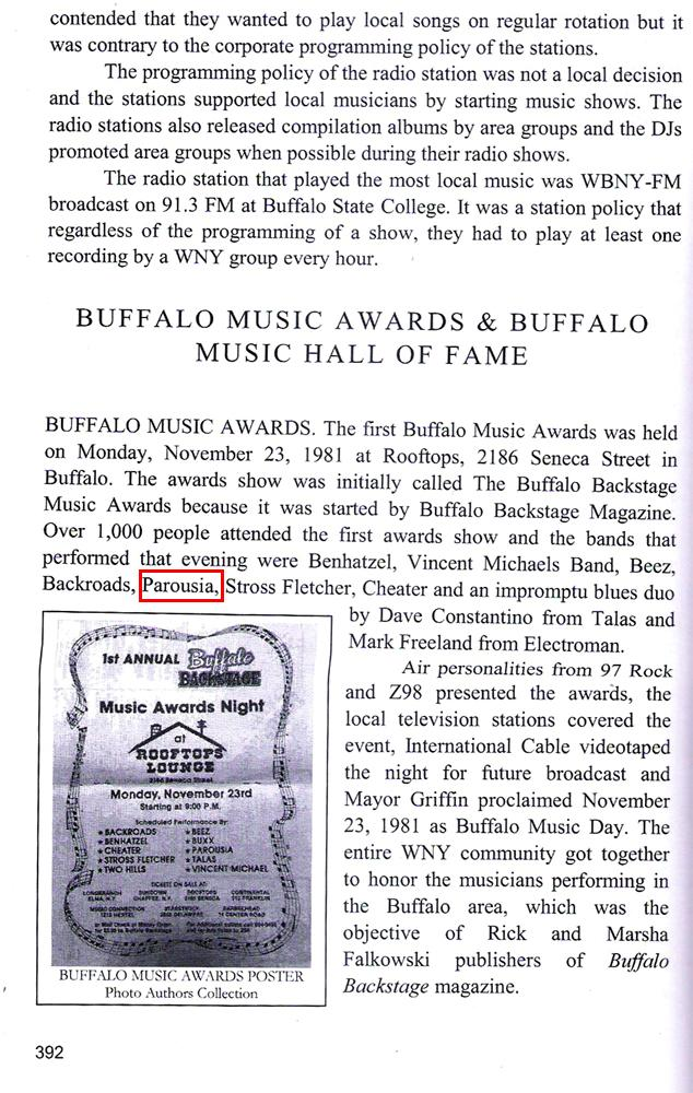 History of Buff Music & Entertainment PG.392