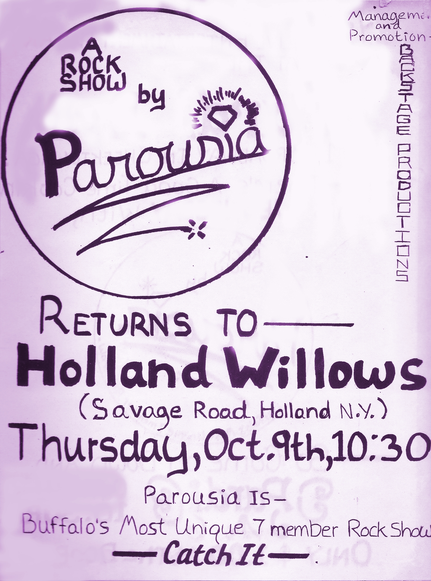 Holland Willows Thurs. 10.09.80