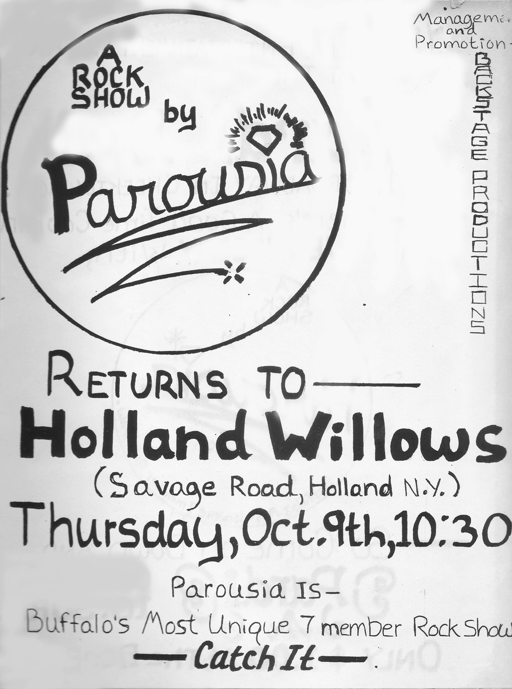 holland-willows-thurs-10-09-80-flyer