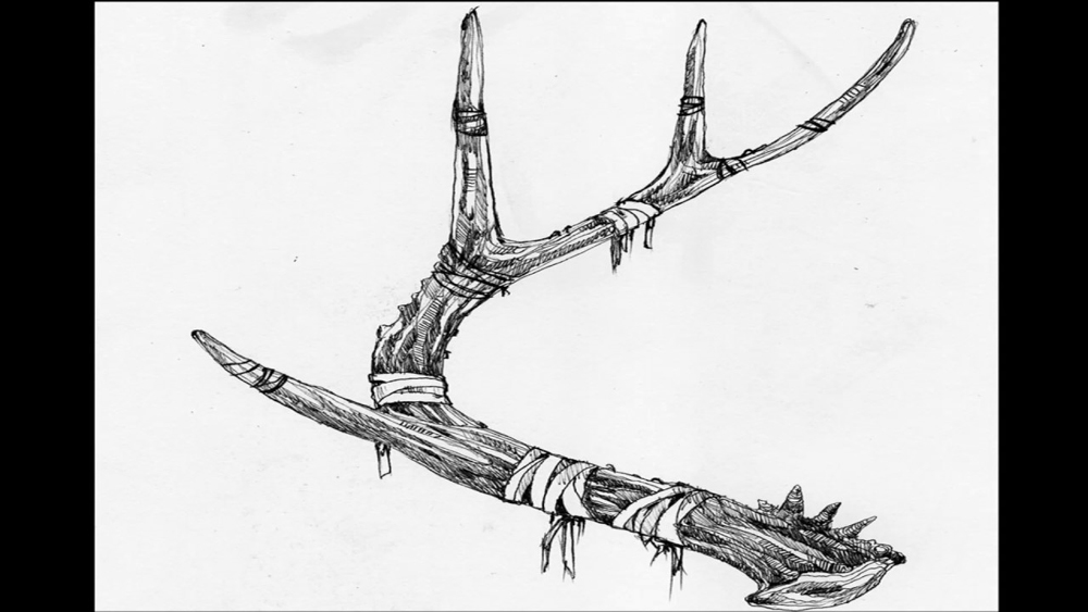 STAGHORN… the Horn of the Stag