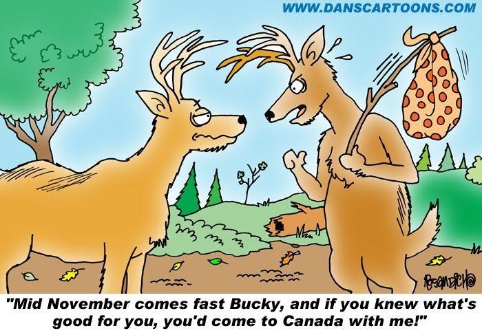 Hunting Cartoon