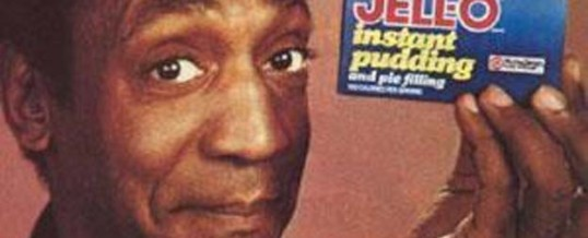 "Bill Cosby says, ""I likes both the Green Jello and the Parousia"""