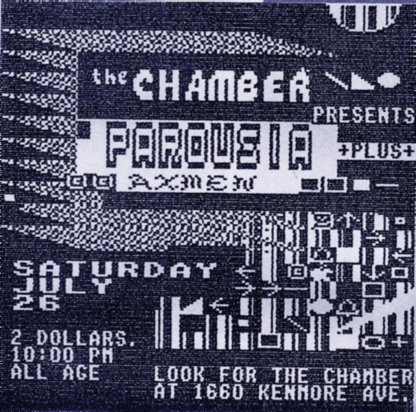 Invite card - the CHAMBER 07.26.1986_v2