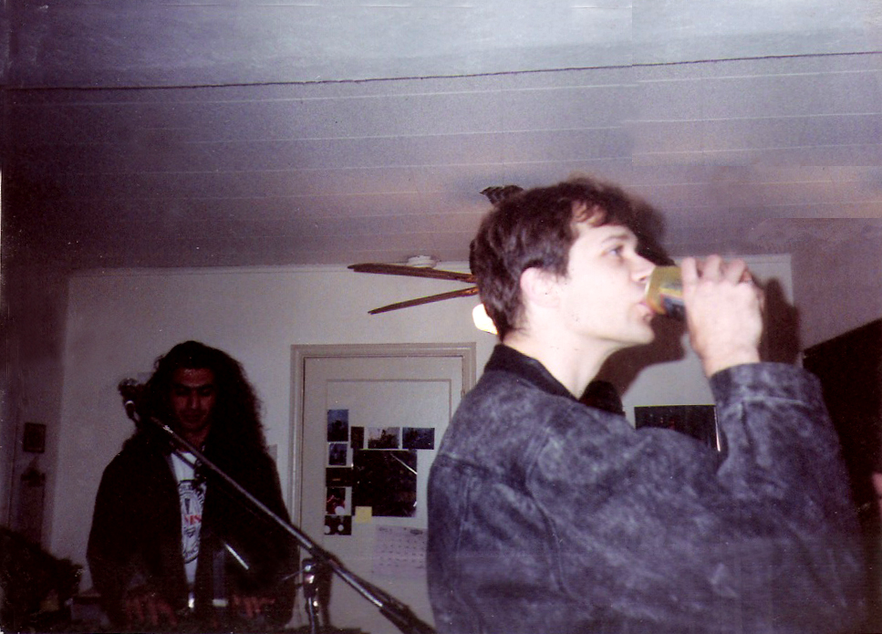 Jeremy Yerimian and Patt Connolly Ger's Room 1990
