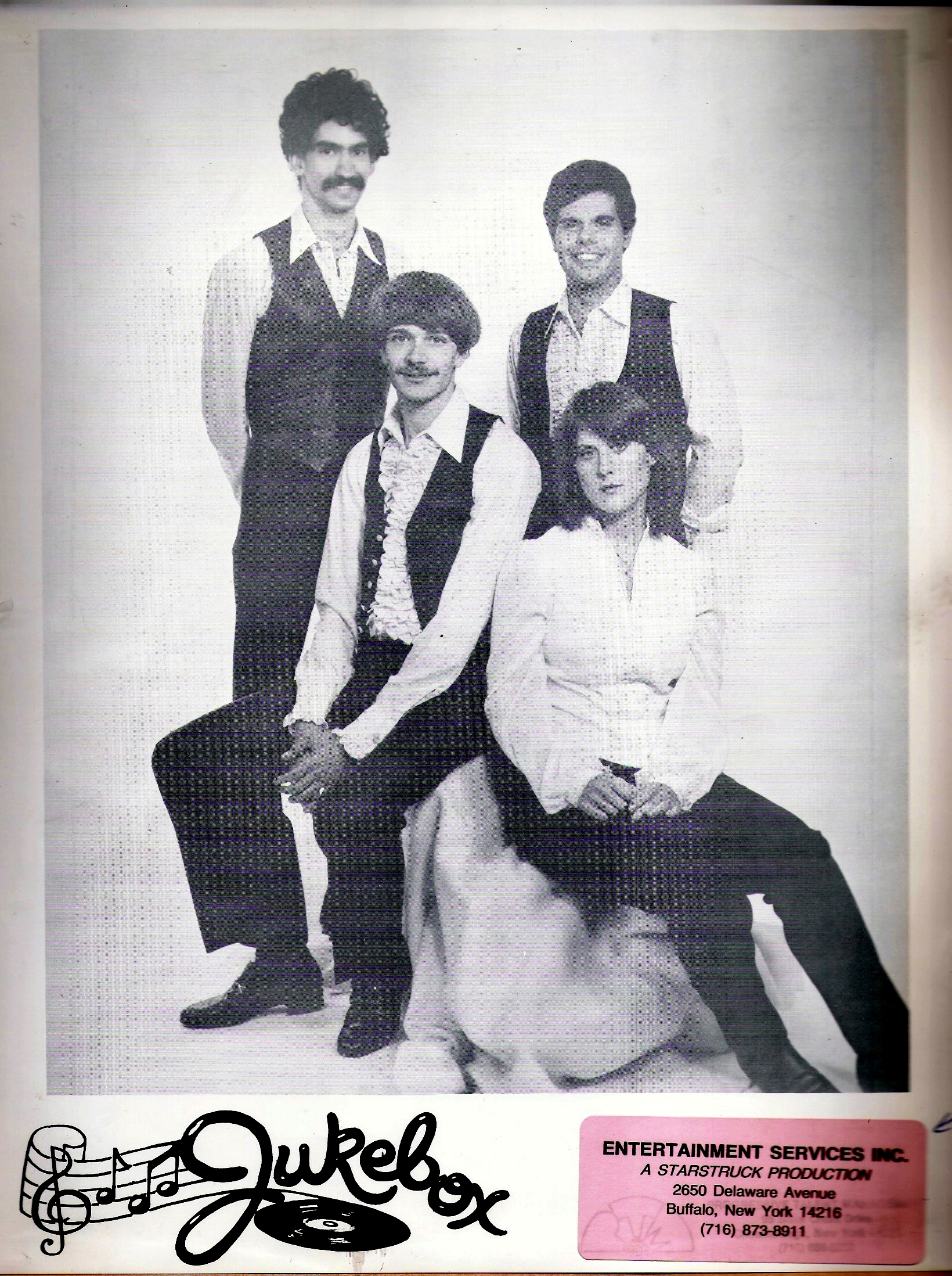 Jukebox- Second Band photo. Sept. 1982b