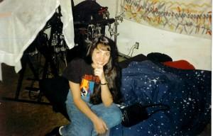 Julie Jodoin - fan and friend 1995
