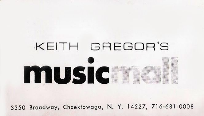 Keith Gregor's Music Mall