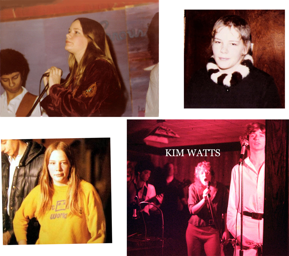 The Late Great Ms. Kim Watts with Parousia 1978- 1981
