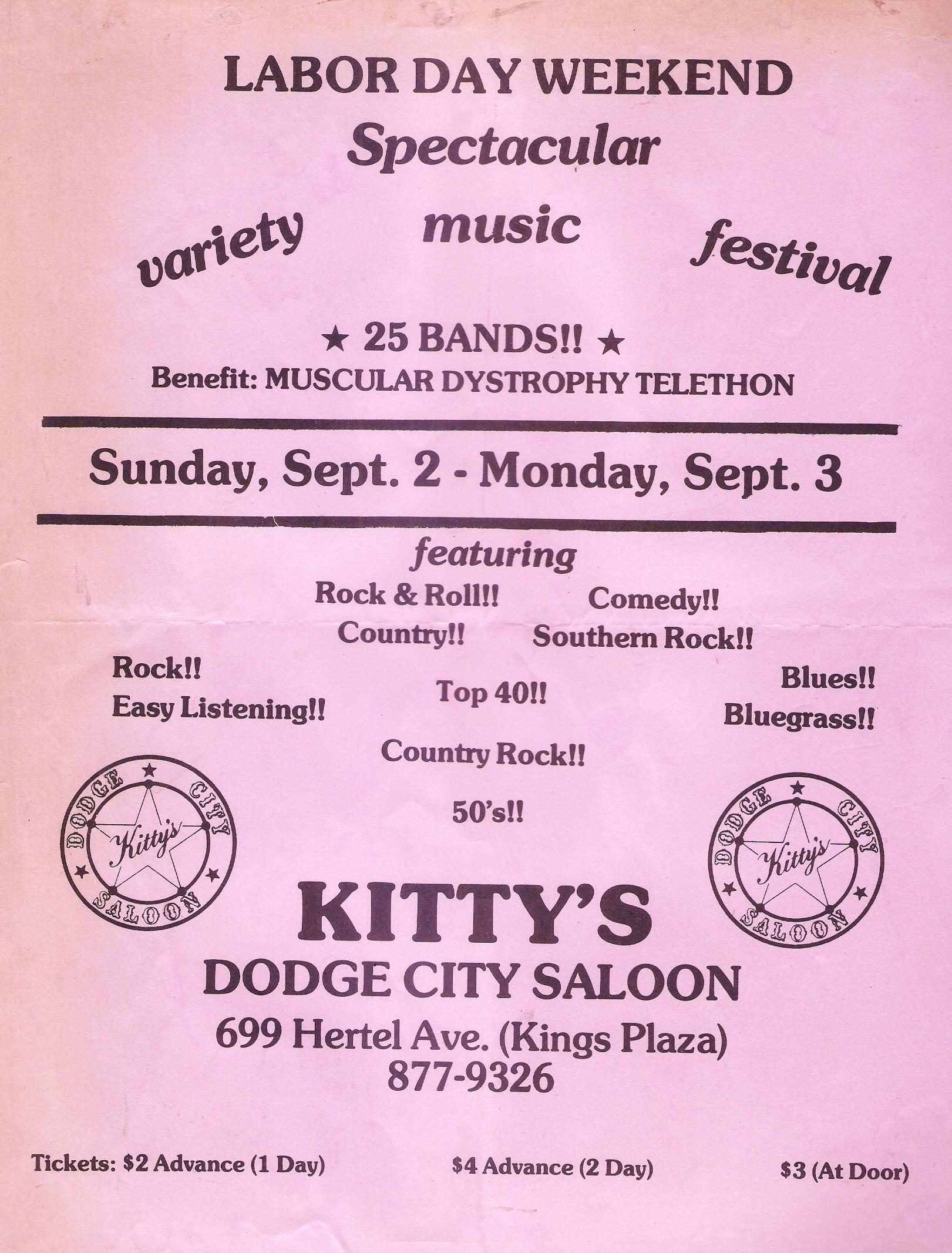 Kitty's Dodge City Saloon 09.02.1979