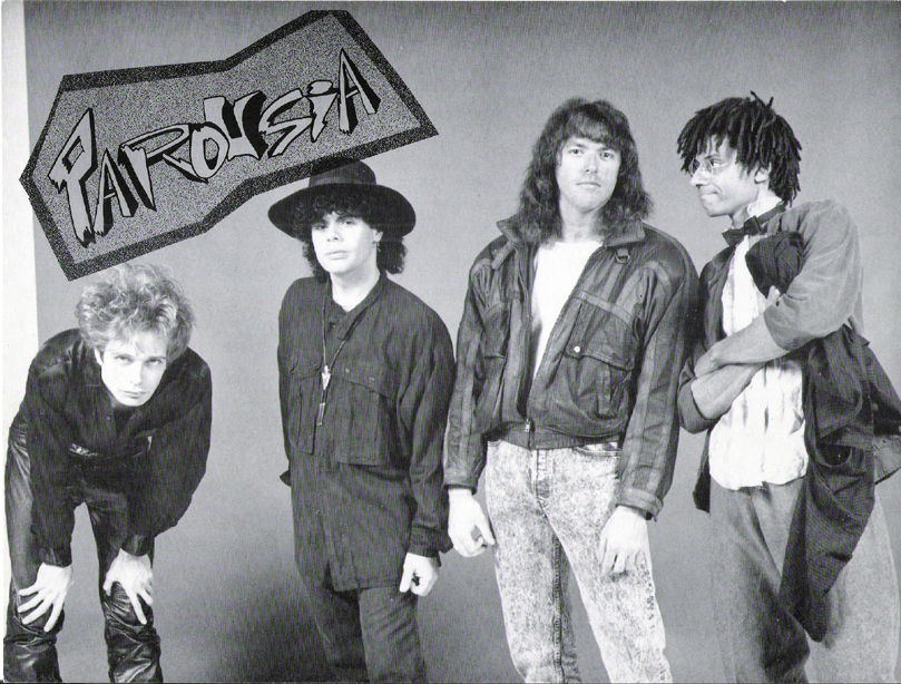 PAROUSIA 1989 with Marty Leggett - Keyboards