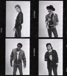 Parousia Photo session - 1988 Hollywood, CA