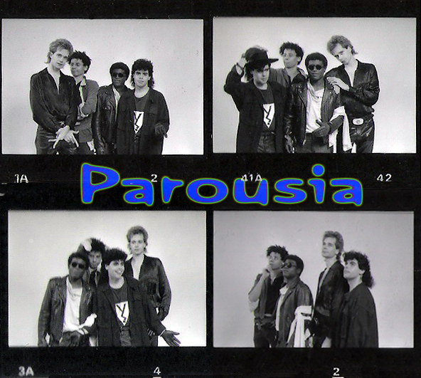 PAROUSIA 1988 – Patt Connolly, Robert Lowden, Gerry Cannizzaro, Bill Simms