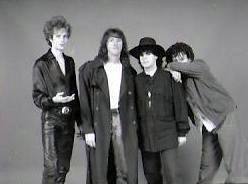 Marty Leggett with Parousia. Photo Session 1989