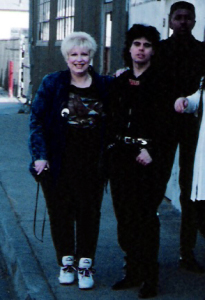Parousia Manager and booking agent - Marianne Smith 1992