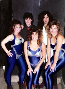 Margaret, Claude, Karen Gerry, Iaian- Nov 1990