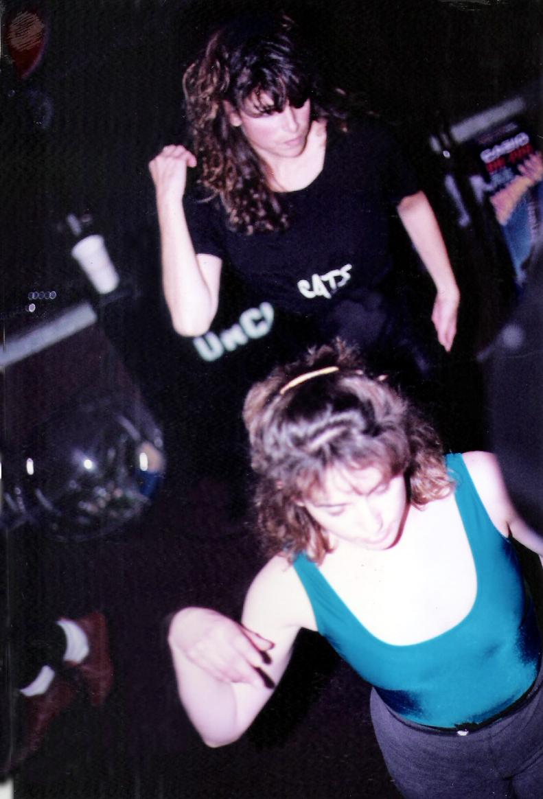 Dancers Margaret Strickland & Karen Springer at the Ethical Pool 1991