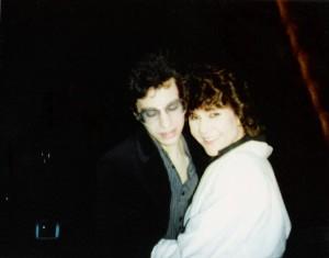 Mark Sparacio (Slide Projectionist) & Anne Carncross 1986