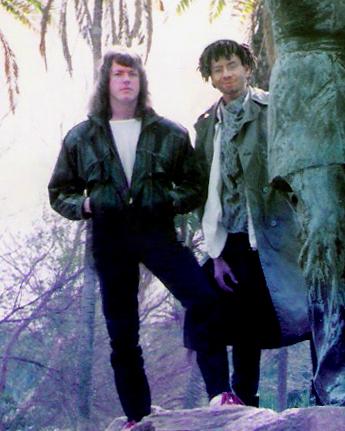 Marty Leggett, keyboards with Robert Lowden, guitar