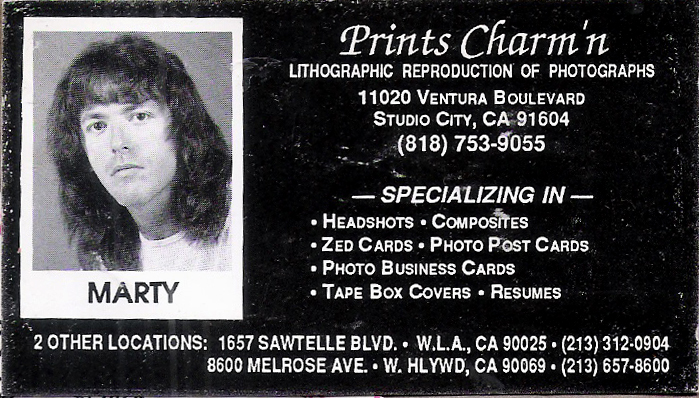 Prints Charm'n - Marty Leggett
