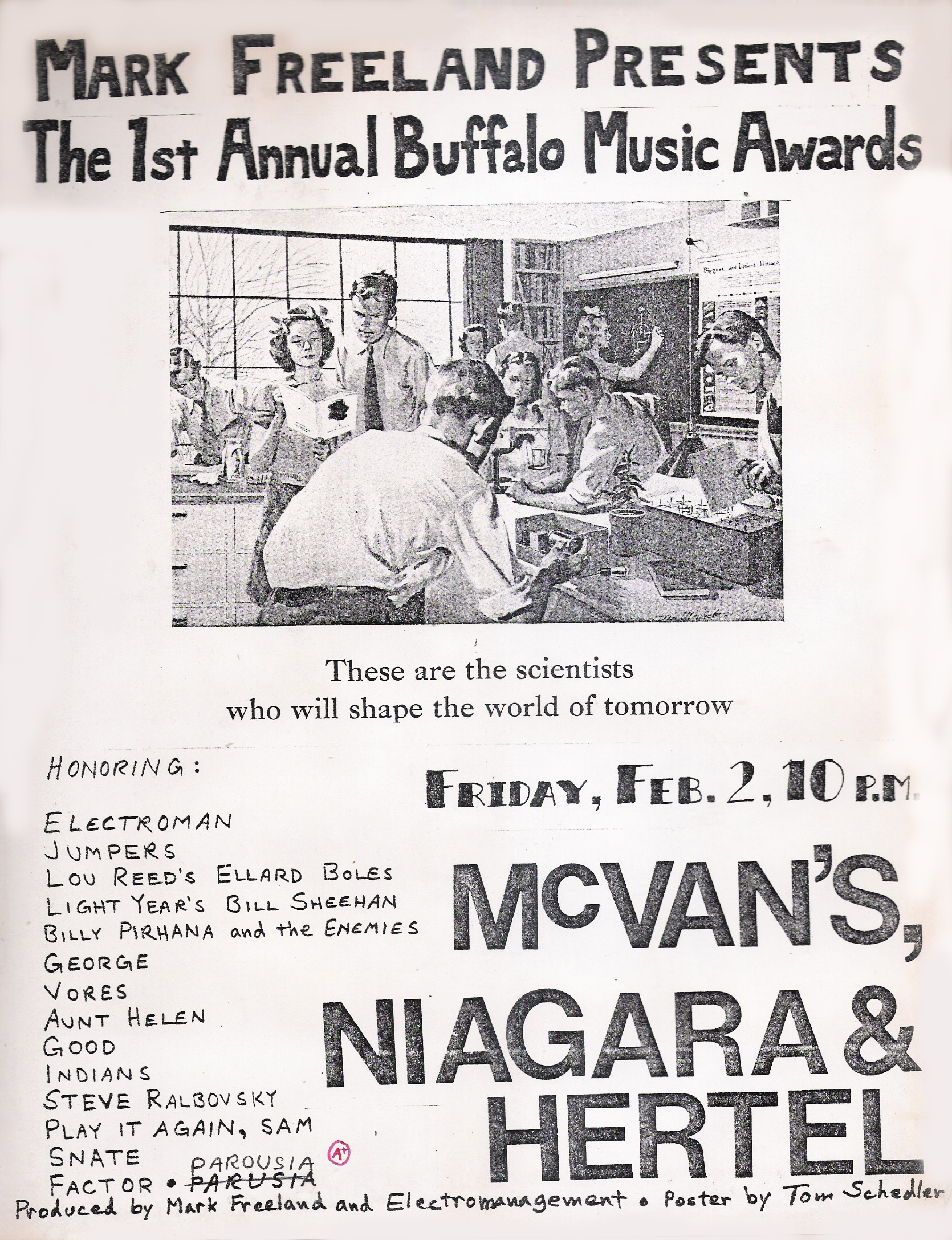 McVans 02.02.79 1st annual Buffalo Music Awards by Mark Freeland