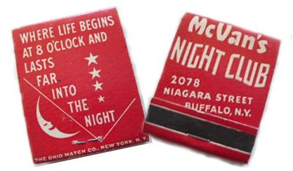 McVan's matches